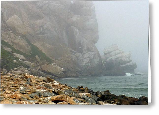 Misty Morro Bay Greeting Card