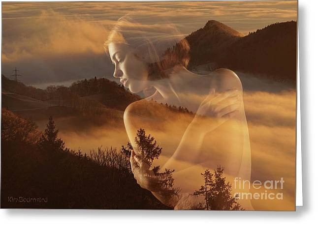Misty Mountain Greeting Card
