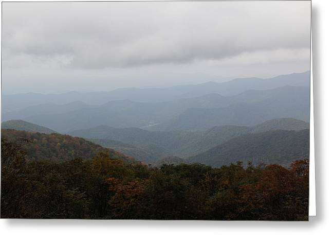 Misty Mountains More Greeting Card