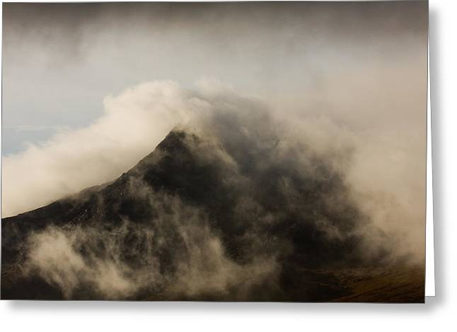 Misty Peak Greeting Card