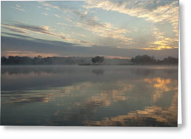 Misty Reflections Greeting Card