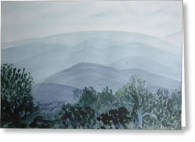 Misty Shenandoah Greeting Card