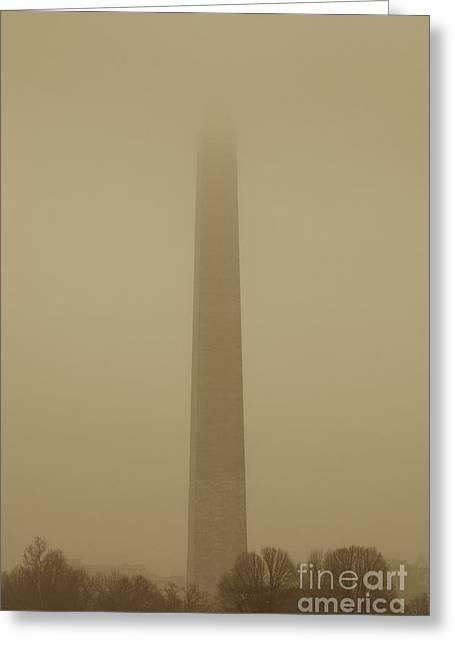 Misty Sky Greeting Card by Hideaki Sakurai