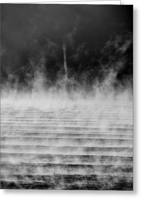 Misty Twister Greeting Card