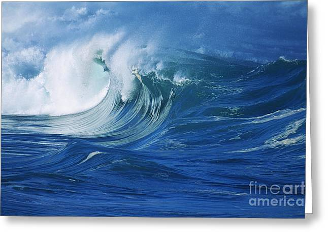 Misty Wave Greeting Card
