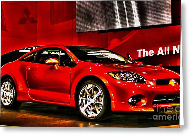 Mitsubishi Eclipse Number 1 Greeting Card