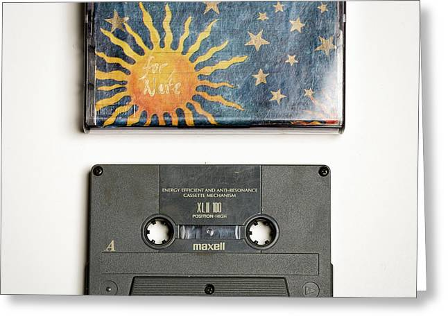 Mix Tape 2 Greeting Card by Nathan Larson