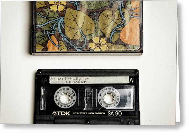 Mix Tape 5 Greeting Card by Nathan Larson