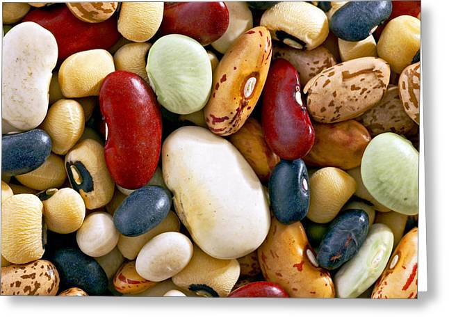 Mixed Beans Greeting Card