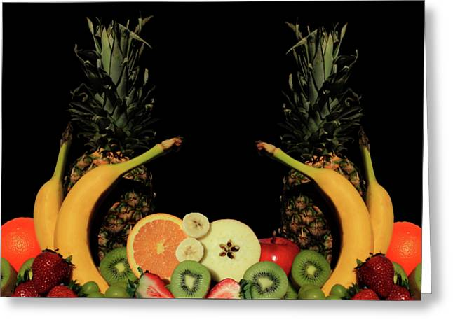 Greeting Card featuring the photograph Mixed Fruits by Shane Bechler