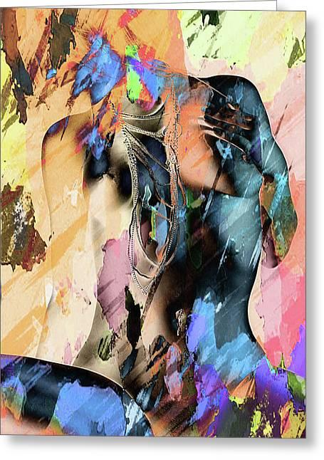 Mixed Greeting Card by Naman Imagery