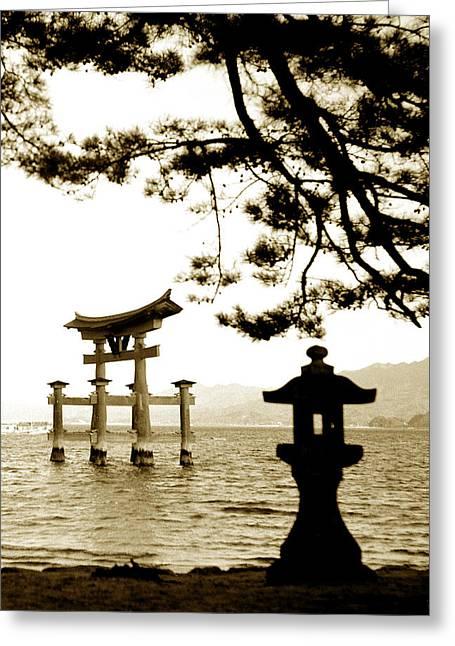 Miyajima Island Greeting Card