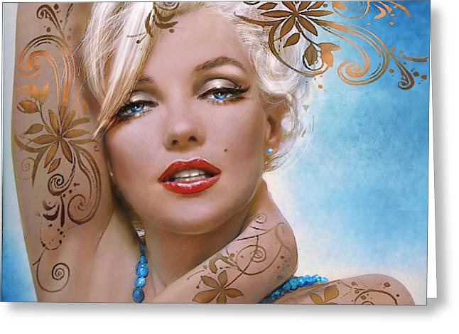 Mm 127 Deco Greeting Card by Theo Danella