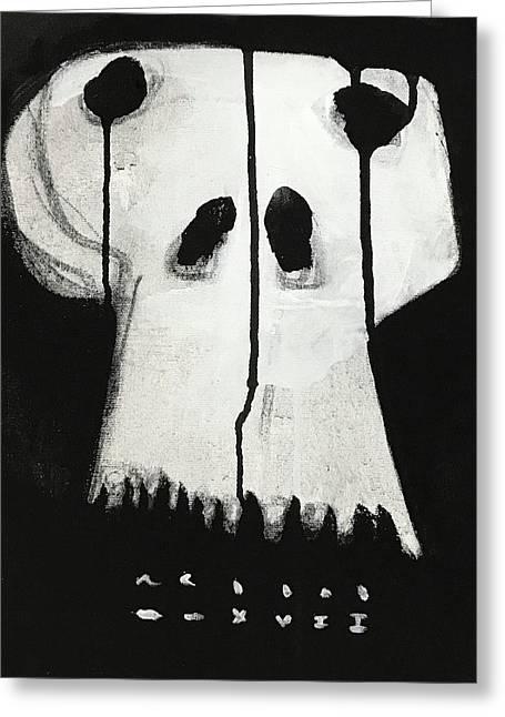 Mmxvii Skulls No 1  Greeting Card