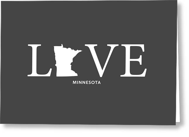 Mn Home Greeting Card by Nancy Ingersoll