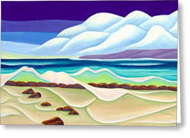 Moana Kai Surf Greeting Card by Lynn Soehner