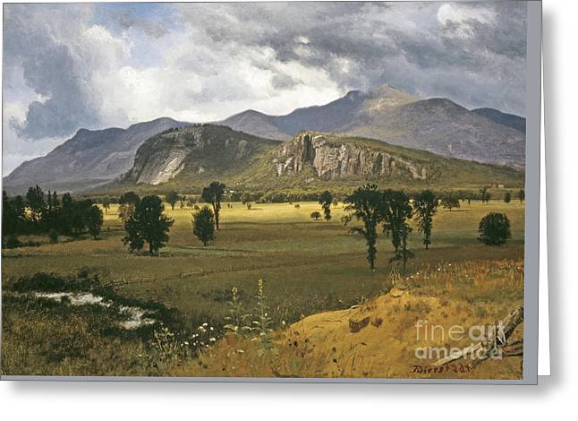 Moat Mountain Greeting Card by MotionAge Designs