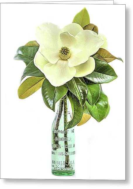 Mobile Magnolia Greeting Card by JC Findley