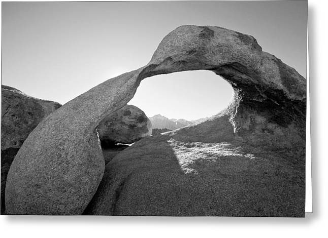 Mobius Arch Greeting Card by Mike Irwin