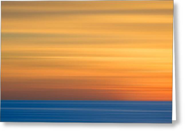 M'ocean 3 Greeting Card by Peter Tellone