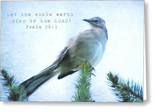 Mockingbird Scripture Greeting Card