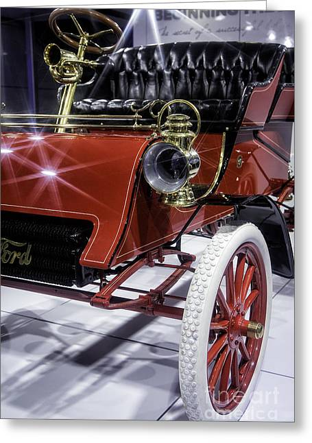 Model A 1903 Greeting Card by Timothy Hacker