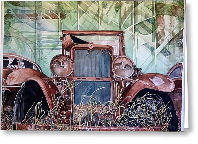 Model A Greeting Card by Lance Wurst
