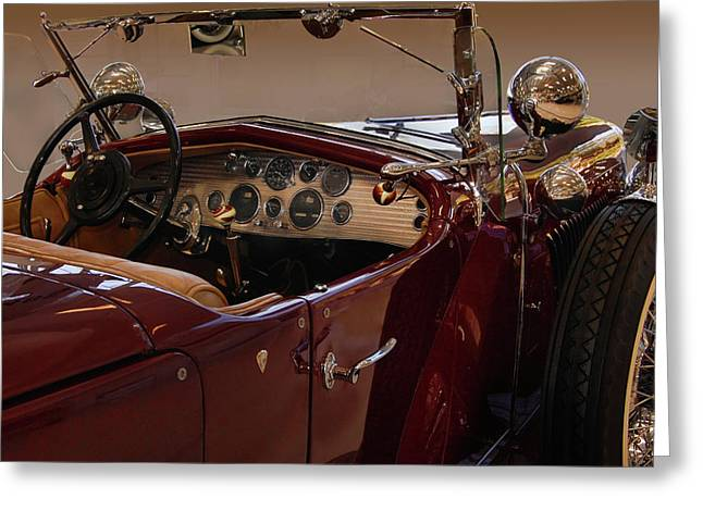 Model J Lebaron Dual Cowl Phaeton Greeting Card