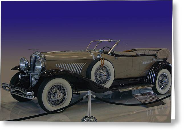 Model J Lebaron Phaeton Greeting Card