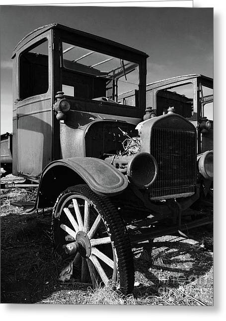 Model T Greeting Card