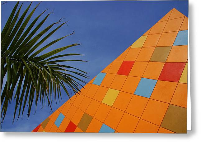 Modern Architecture Greeting Card by Susanne Van Hulst