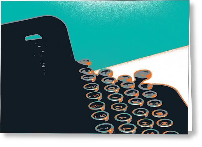 Modern Greeting Card by Shay Culligan