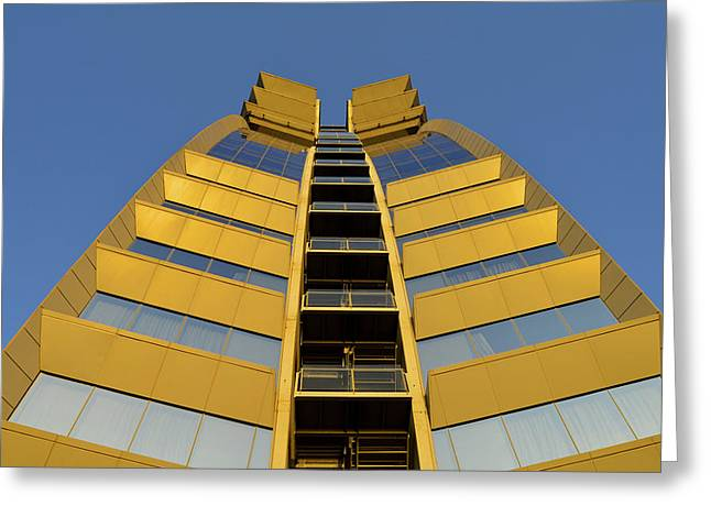 Modern W Hotel Barcelona Spain Greeting Card by Marek Stepan