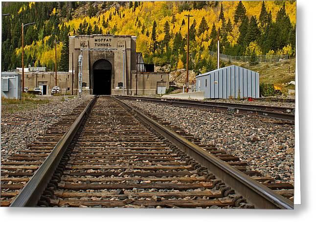 Moffat Tunnel Greeting Card by Farol Tomson