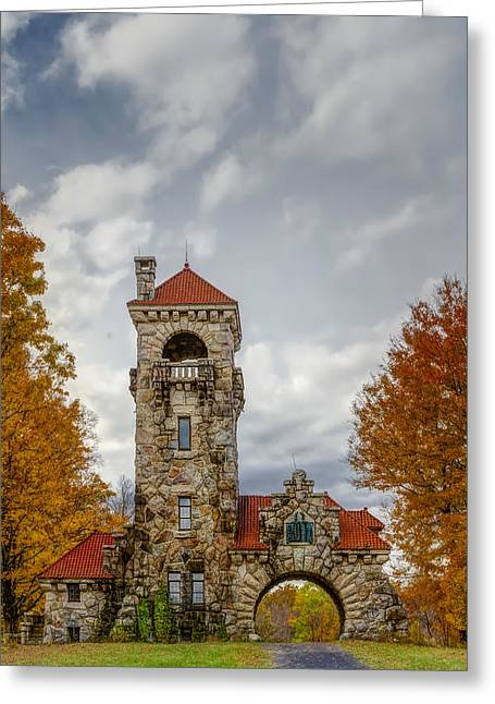 Mohonk Preserve Gatehouse II Greeting Card by Susan Candelario