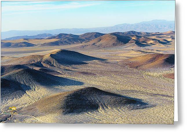 Greeting Card featuring the photograph Mojave Desert by Jim Thompson