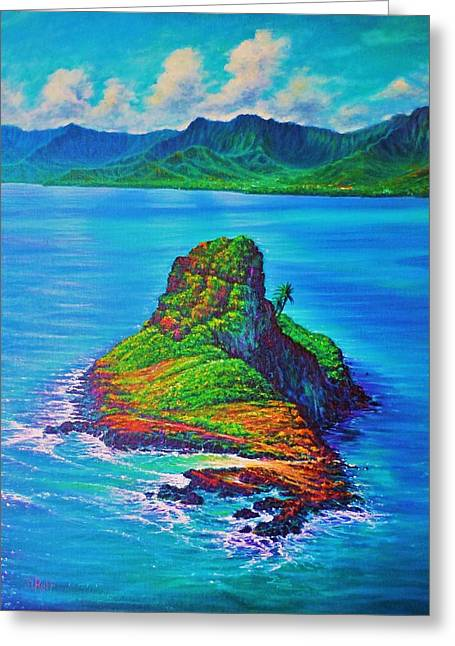 Mokolii Island - China Mans Hat Greeting Card