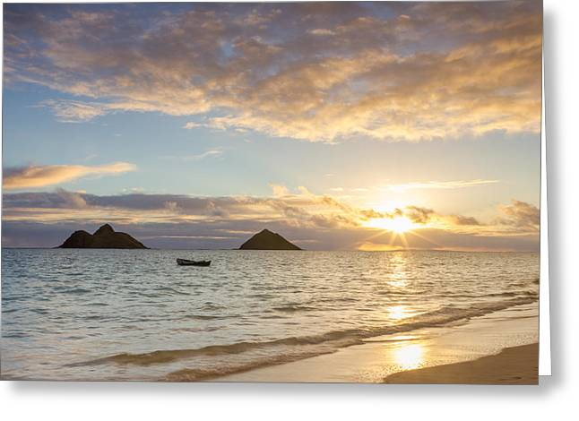 Mokulua Morning Greeting Card