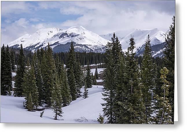Molas Pass Colorado Greeting Card by Joan Carroll