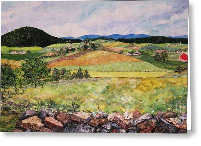 Mole Hill In Summer Greeting Card