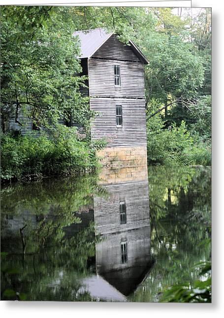 Mollohan Mill 3 Greeting Card by Carolyn Postelwait
