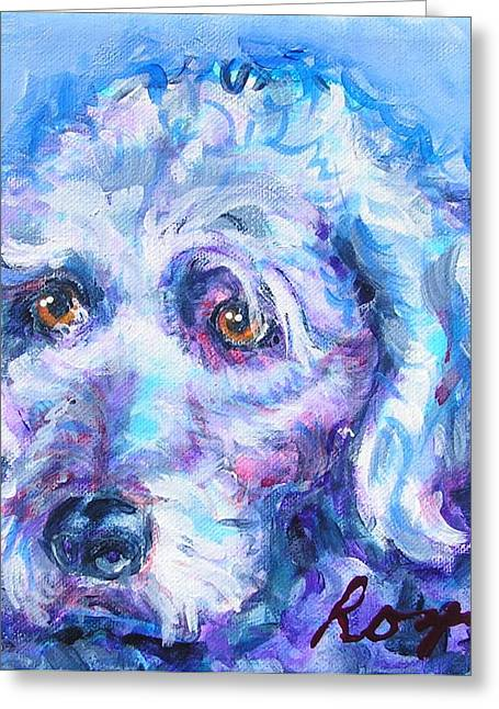 Molly Blue Greeting Card