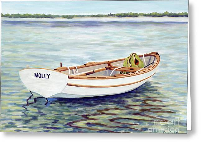 Molly Greeting Card by Danielle  Perry