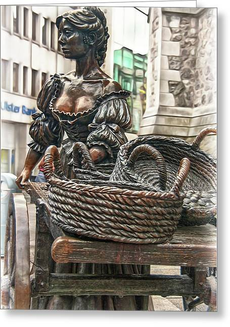 Greeting Card featuring the photograph Molly Malone by Hanny Heim