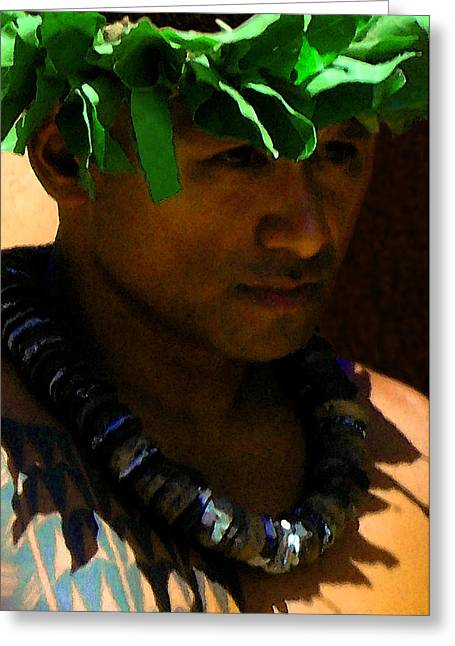 Molokai Kane Greeting Card by James Temple