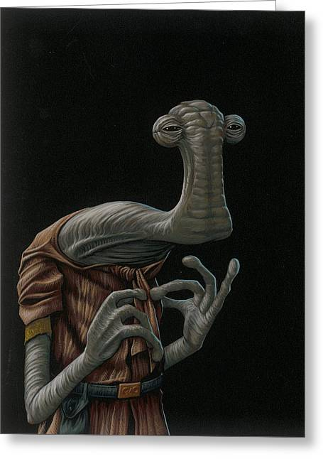 Momaw Nadon Greeting Card by Jasper Oostland