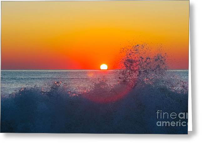 Moment In Time Greeting Card by Allan Levin