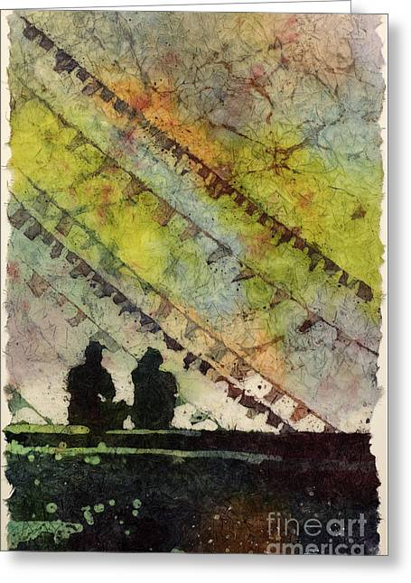 Moment In Time- Nepal Greeting Card