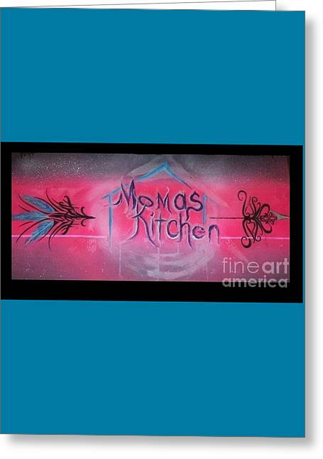 Momma's Kitchen  Greeting Card by Talisa Hartley
