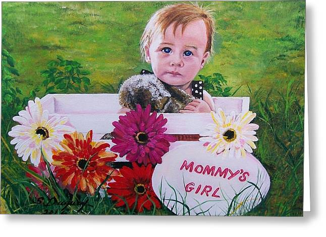 Mommy's Girl Greeting Card